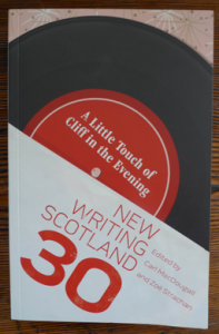 Front cover of A Little Bit of Cliff in the Evening: New Writing Scotland 30